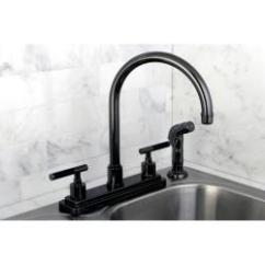 Black Kitchen Faucet Drain Pipe Repair Shop Nickel Two Handle Free Shipping Today