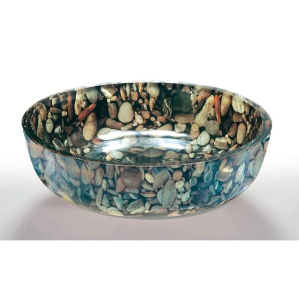 Bathroom Glass Vessel Bowl Sink