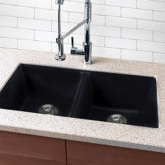 Black Kitchen Sinks Degin Shop Highpoint Collection Granite Composite Undermount Sink Free Shipping Today Overstock Com 7082120