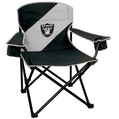 Oakland Raiders Chair Wedding Cover Hire Scarborough Shop Mammoth Nylon Free Shipping Today