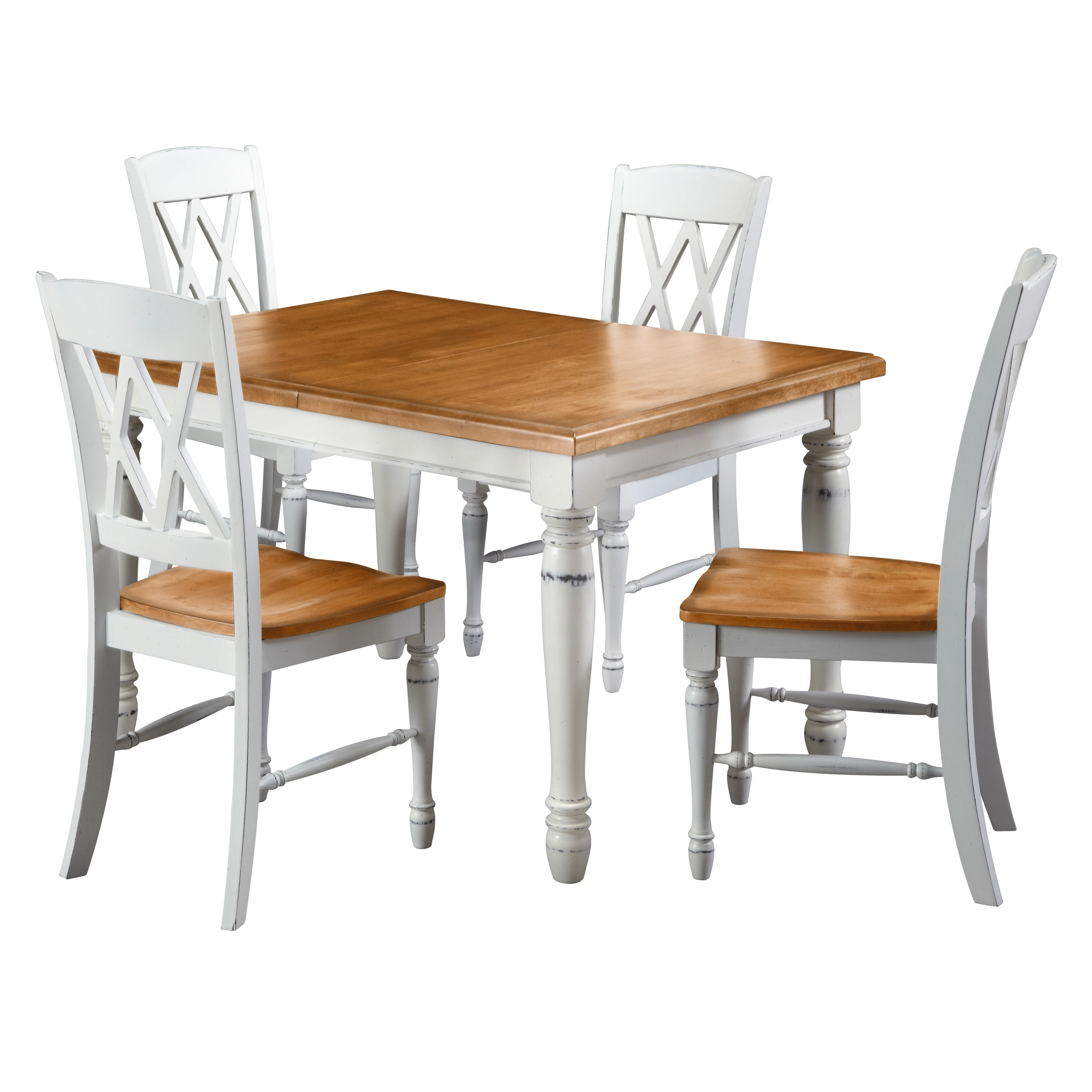 monarch double x back dining chairs chair yoga certification nyc buy kitchen and room sets online at overstock