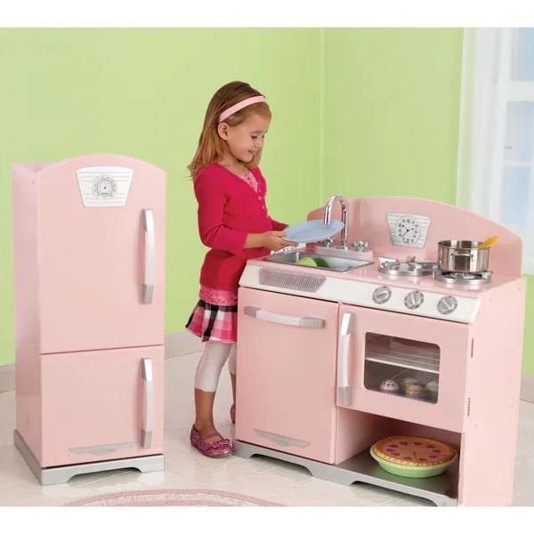 Shop KidKraft Retro Kitchen and Refrigerator  Free