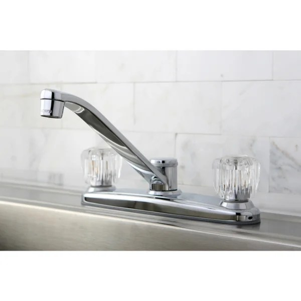 two handle kitchen faucet aid products shop basic free shipping today