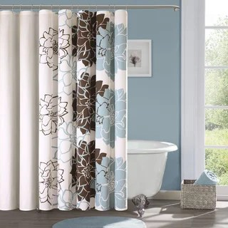 Madison Park Brianna Sateen Printed Shower Curtain Free Shipping