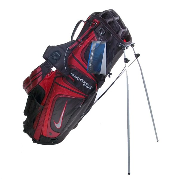 Nike Xtreme Red Black Sport Ii Stand Bag - Free Shipping Today 13348052