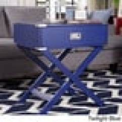 Mirrored Pyramid Living Room Accent Side End Table Center Bloomington In Kenton X Base Wood Campaign By Inspire Q Bold ...