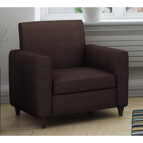 Enzo Solid-colored Accent Chair - Free Shipping Orders Over 45 7310921