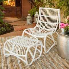White Wicker Sofa For Sale Low Profile Sectional Sofas Shop Safavieh Shenandoah Chair And Ottoman Set On