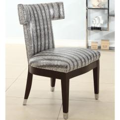 White Leather Slipper Chair Where To Buy A Beach Trenton Faux T Back Accent Armless Free