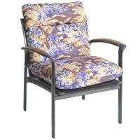 Bria Floral Outdoor Brown/ Purple Chair Cushion - Free ...