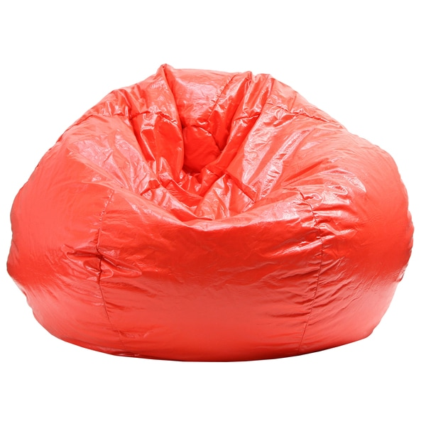 Shop Extra Large Red Bean Bag  Free Shipping Today