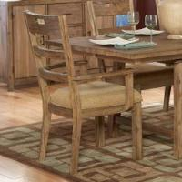 Shop Nat Driftwood Acacia Wood Country Arm Chairs (Set of ...