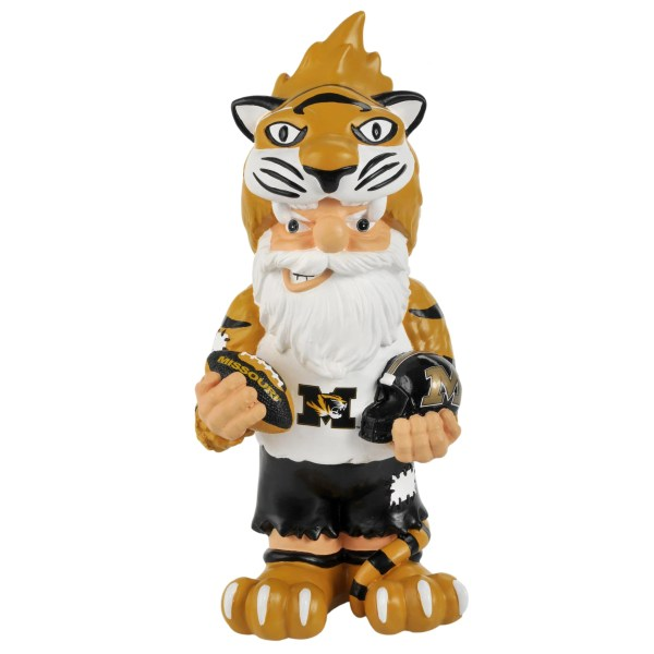 Missouri Tigers 11- Thematic Garden Gnome - Free Shipping Orders Over 45