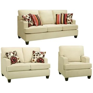 alicia two tone modern sofa and loveseat set sunroom furniture sofas shoreline chocolate italian leather ...