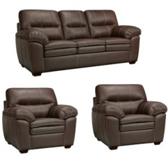 Ryker Reclining Sofa And Loveseat 2 Piece Set Apartment Size Sectional Sleeper Sofas Contemporary Leather 3-piece With 5 ...
