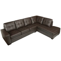 Chocolate Brown Leather Sectional Sofa With 2 Storage Ottomans Theodore Alexander Reviews Buy Living Room Furniture Sets Online At Overstock