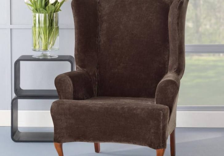 Wingback Chair Slip Covers