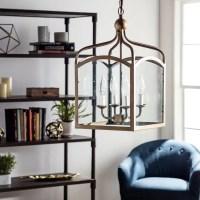 Ashley Bronze 4-light Foyer Hanging Lantern - 14974443 ...
