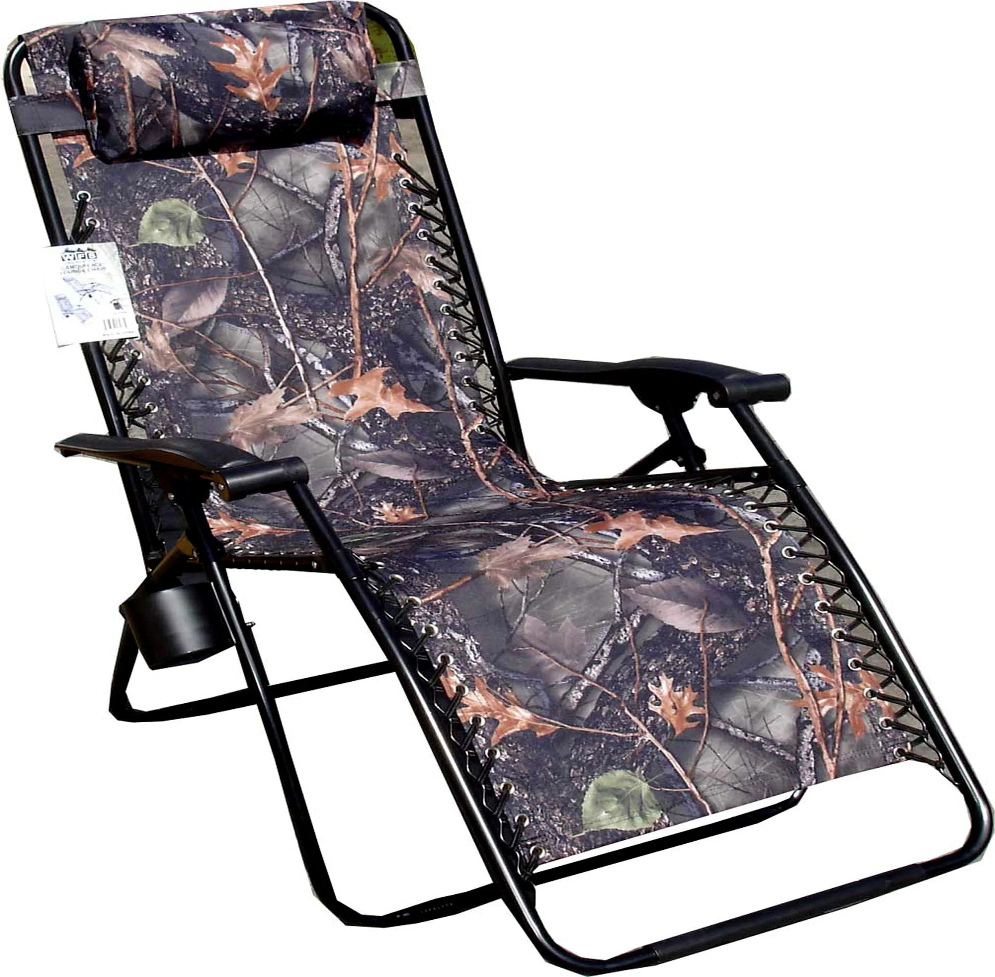 Camo Recliner Chair Jumbo Camo Zero Gravity Reclining Camp Chair 13730208