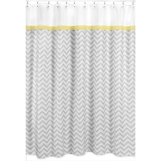 Yellow Shower Curtains Overstock Com Vibrant Fabric Bath Curtains