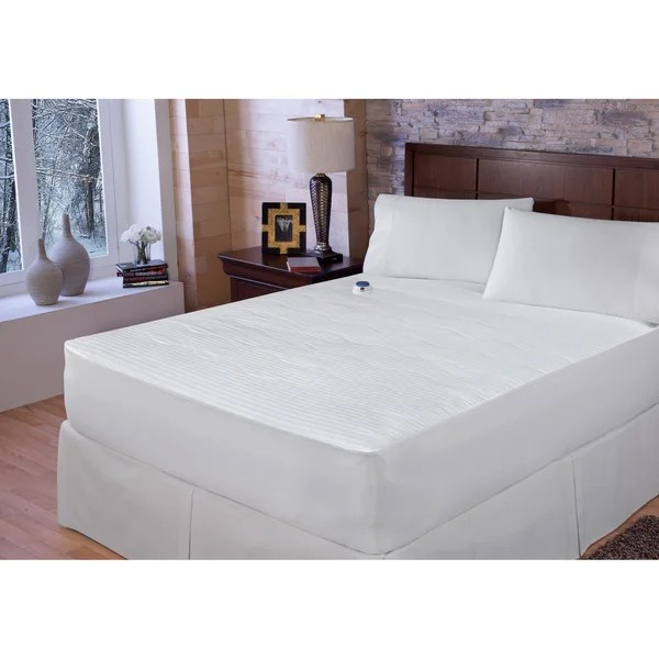 Rest Remedy Waterproof Electric Warming Mattress Pad With Safe Warm Technology