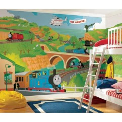Thomas Train Chair Lounge Lizard Quick Dry Cover Shop The Rail Prepasted Wall Art Mural 6 X 10 5 Free Shipping Today Overstock Com 7653712