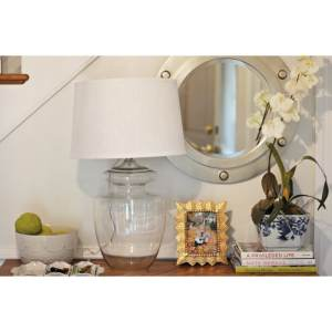 """Baden 29"""" Table Lamp - Clear Glass"""