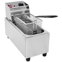Kitchen Fryer Small Tables Ikea Shop Eurodib Sfe01820 Stainless Steel Deep Set Ships To