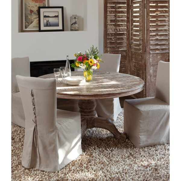 60 inch kitchen table 36 cabinets shop hamshire reclaimed wood round dining by kosas home