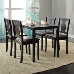 Modern Kitchen Sets Latest Gadgets Buy Contemporary Dining Room Online At Simple Living Black 5 Piece Kaylee Set