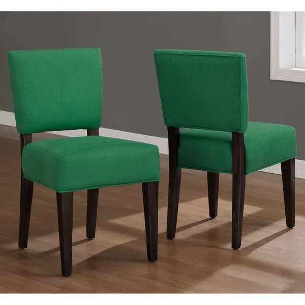 Emerald Green Savannah Dining Chairs Set of 2  Free