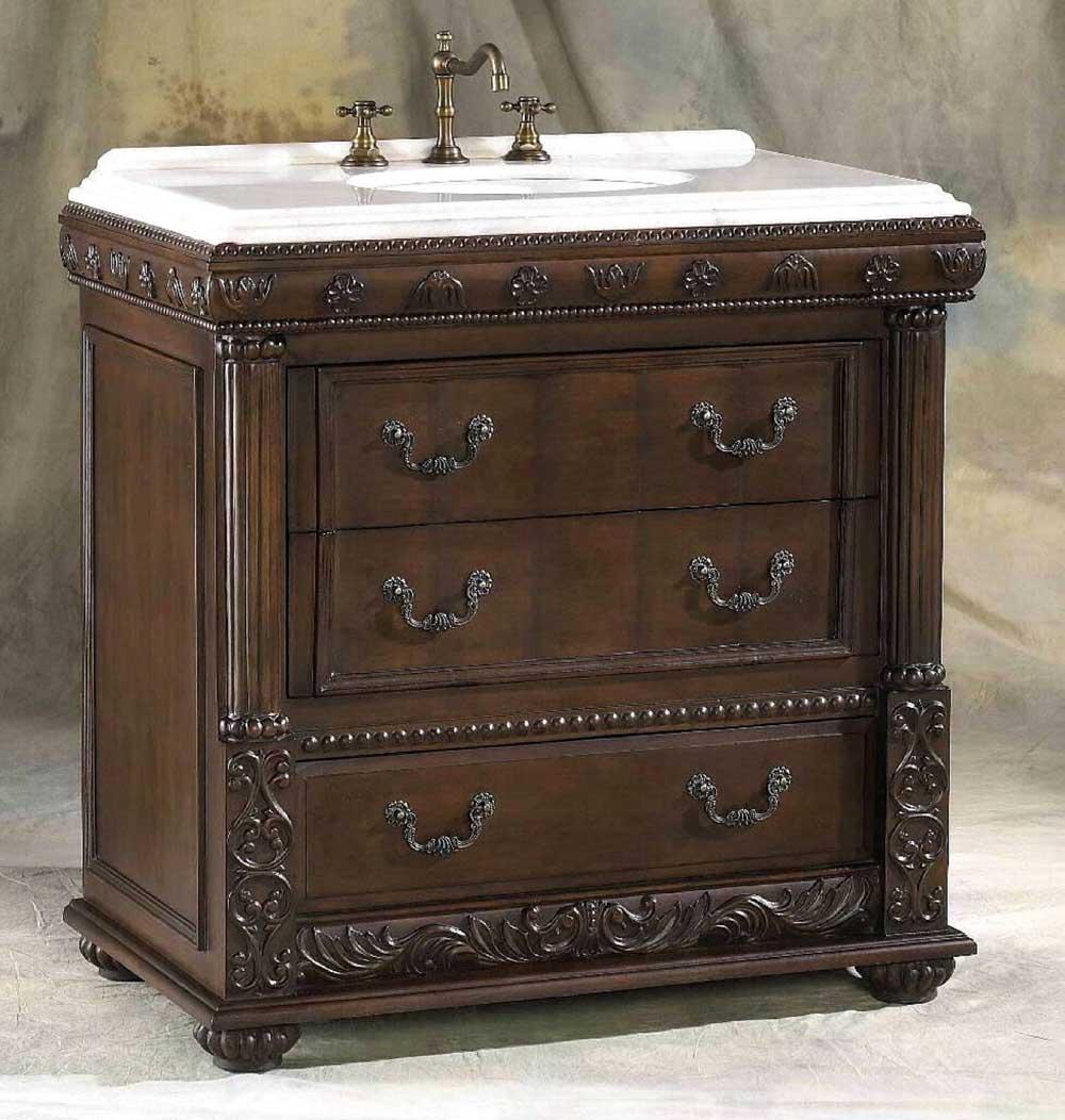 Augustus Single Sink Bathroom Vanity  Overstock Shopping