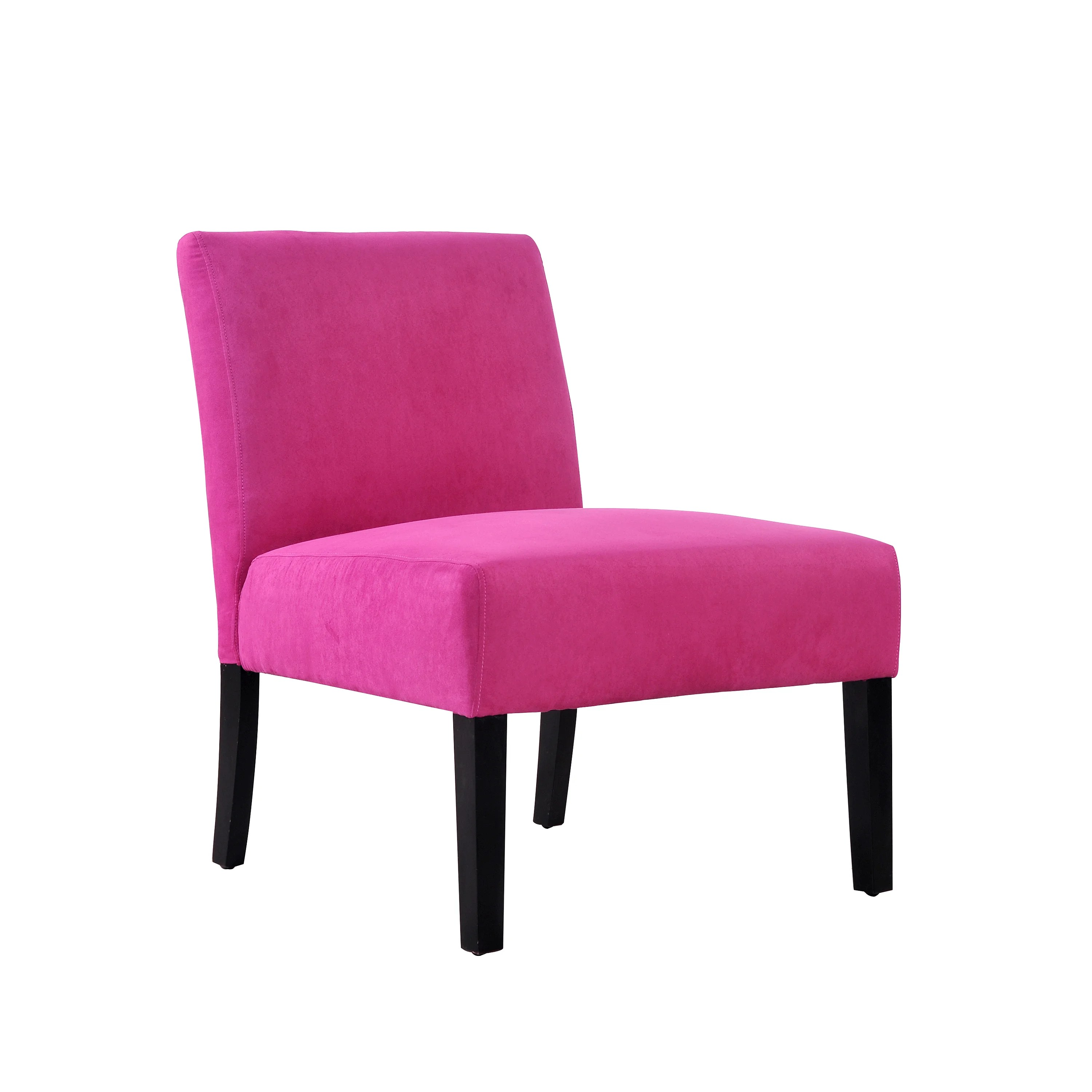 microfiber club chair with ottoman thonet chairs for sale portfolio niles magenta armless accent