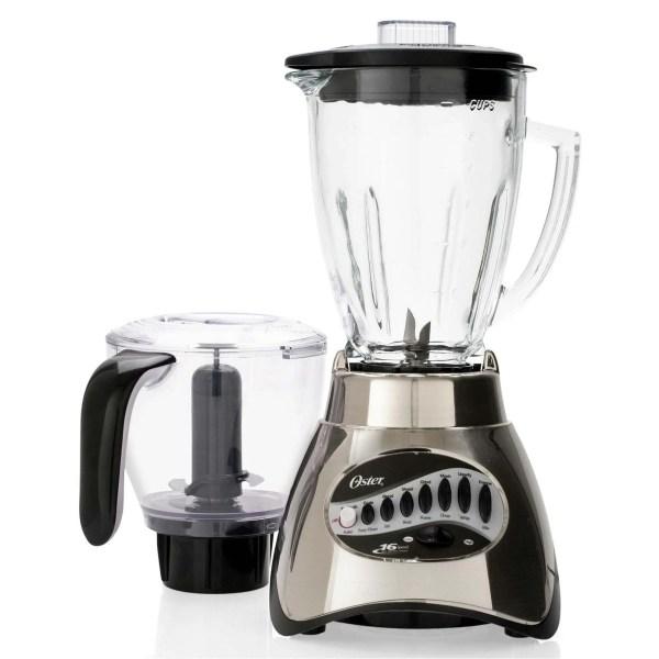 Oster 6878 16-speed Glass Jar Blender With Food Processor