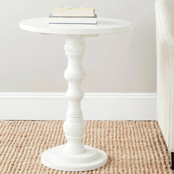 Shop Safavieh Greta Off White Accent Table  22 x 22 x