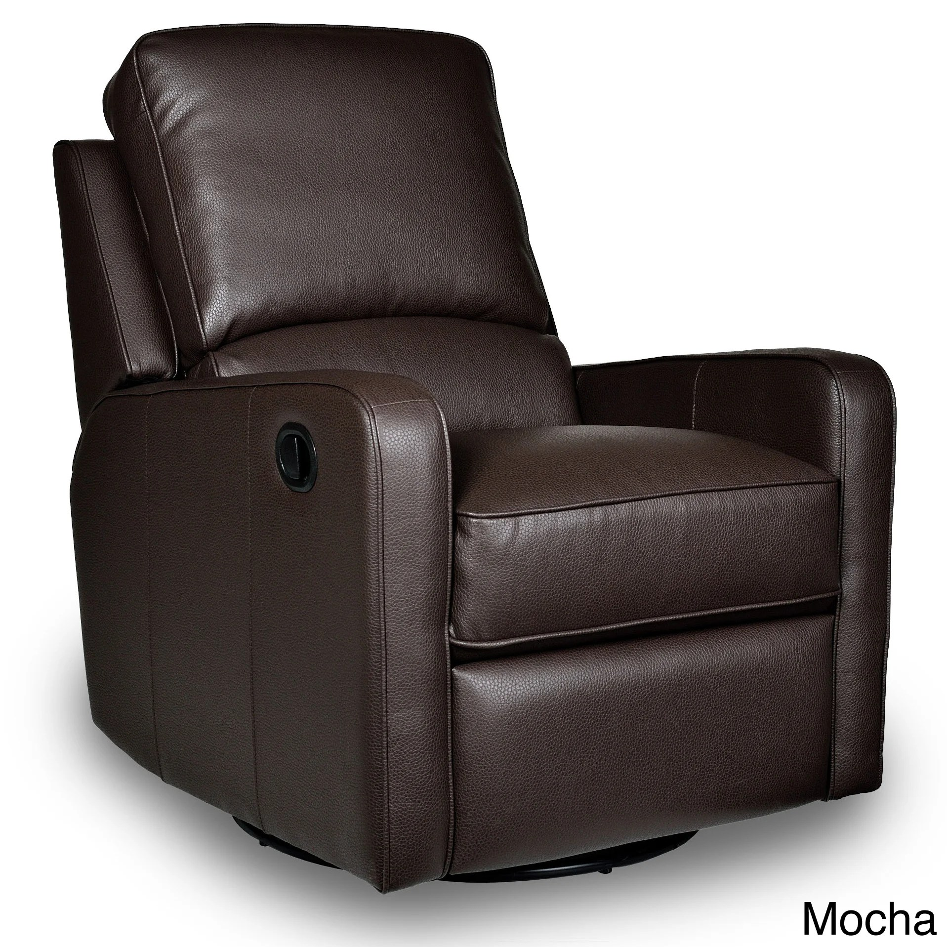 glider recliner chair french round back dining chairs swivel leather perth furniture