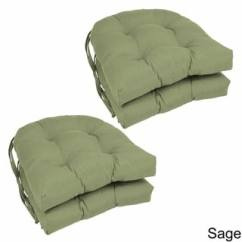 Green Chair Cushions Cute Desk Buy Pads Online At Overstock Com Our Best Blazing Needles U Shaped Twill 16 Inch Dining Set Of 4
