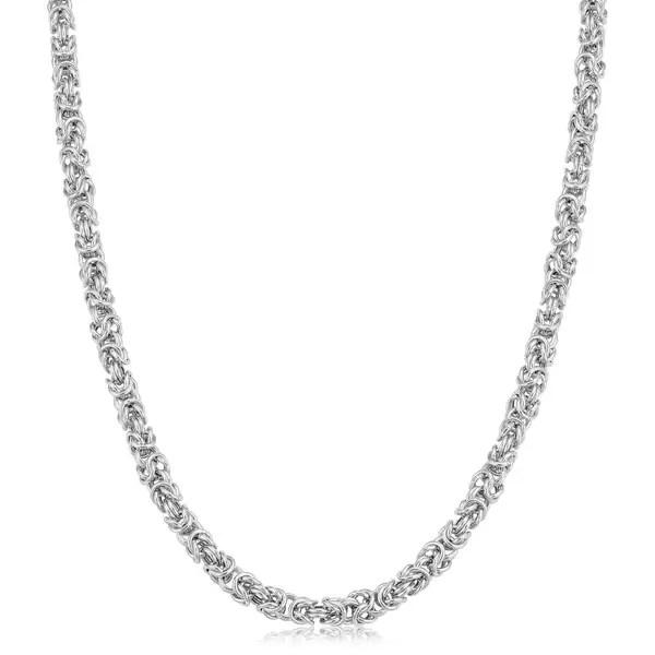 Shop Fremada Rhodium Plated Sterling Silver 3.5