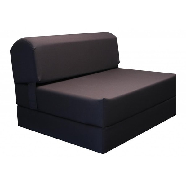 foam chair that turns into a bed crushed velvet covers uk shop brown tri fold mat free shipping today