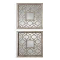 Shop Uttermost Sorbolo Squares Decorative Mirror (Set of 2 ...