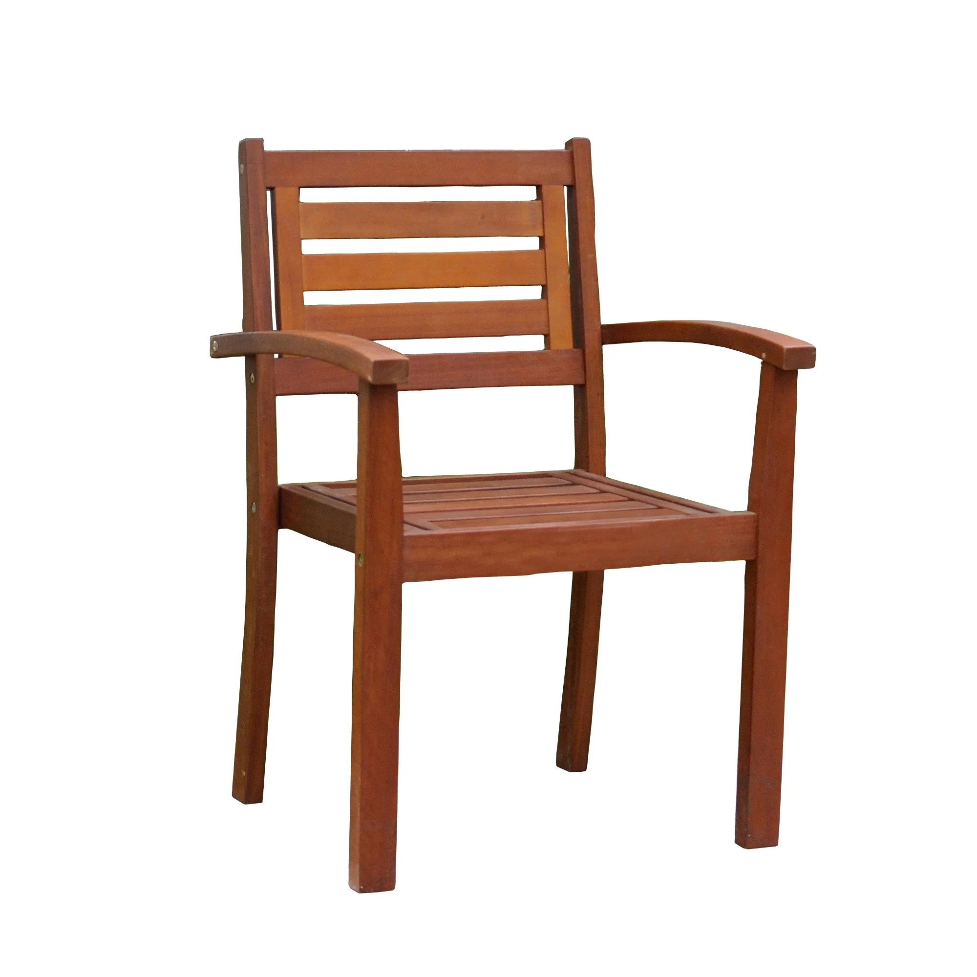 merry garden adirondack chair patio glides oval products brown eucalyptus stacking arm free