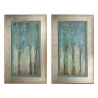 Shop Uttermost 'Whispering Wind' Framed Art (Set of 2 ...