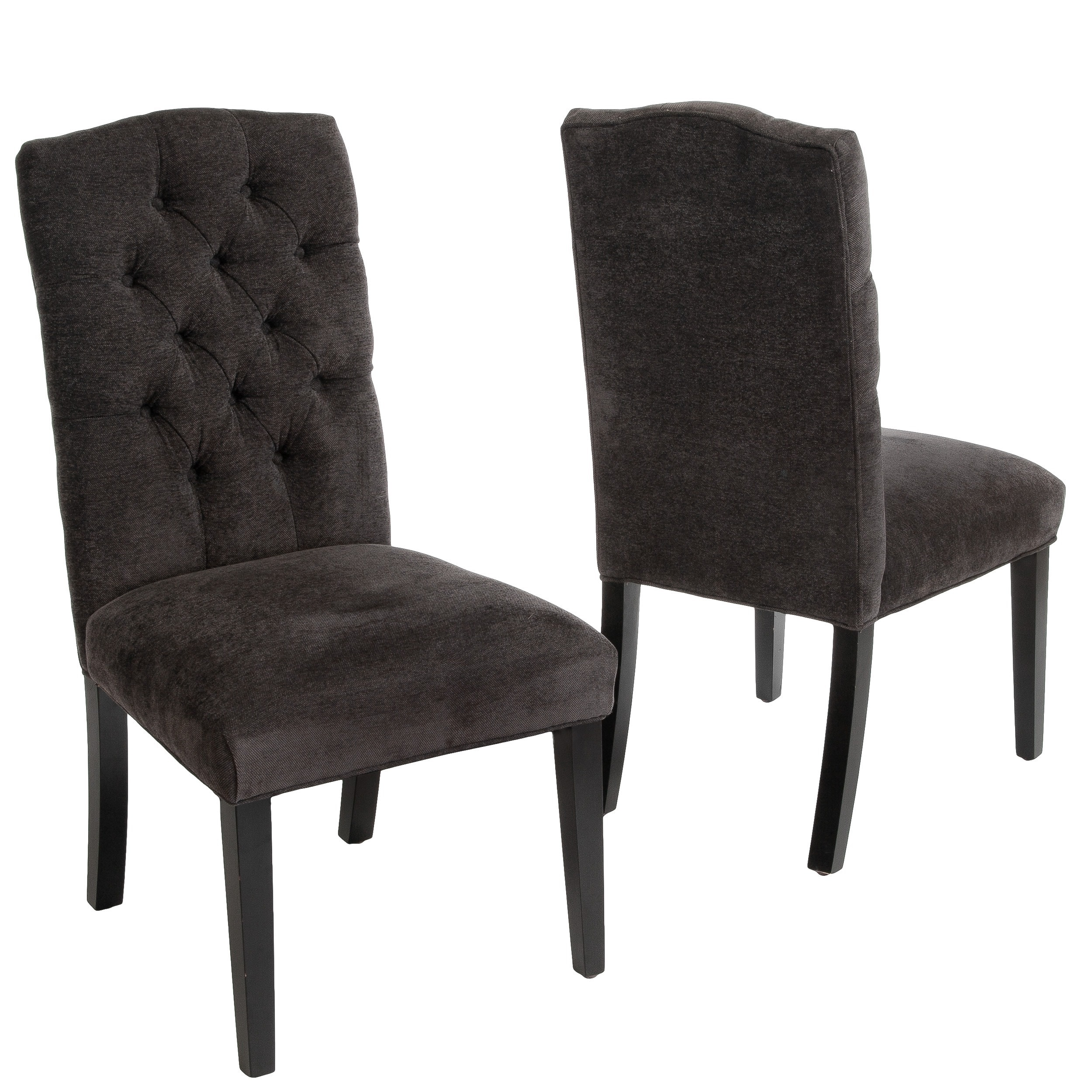 Dark Grey Dining Chairs Buy Kitchen And Dining Room Chairs Online At Overstock