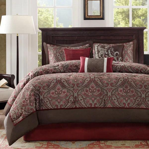 Shop Madison Park Preston 7piece Comforter Set  On Sale