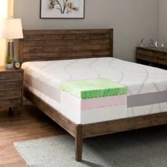 Comfort Dreams Memory Foam Sofa Sleeper Mattress White Special Offers 13-inch King-size Gel ...