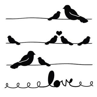 Shop Claudine Hellmuth Studio Stencil Collection-Love