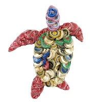 Shop Handmade Bottle Cap Turtle Wall Plaque (Kenya) - On ...