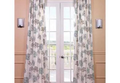 Sheer Lavender Curtains