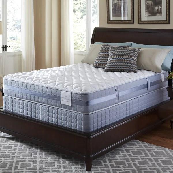 Serta Perfect Sleeper Resolution Firm King Size Mattress And Foundation Set