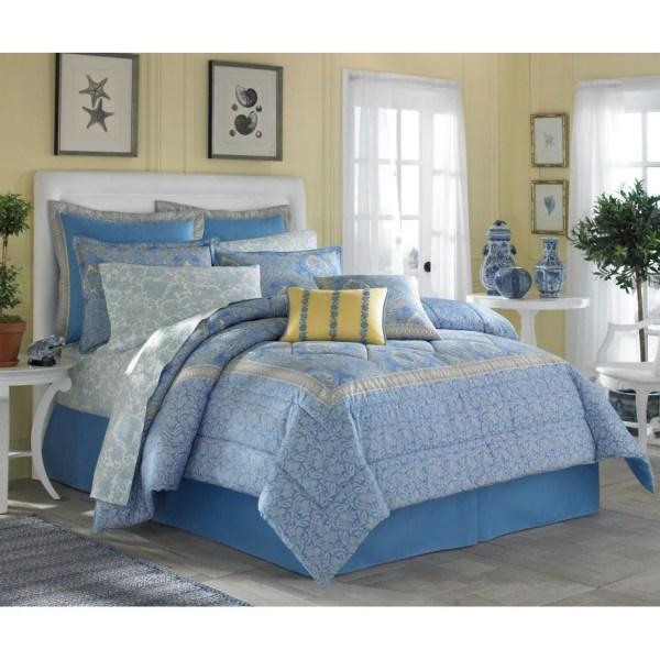 Laura Ashley Prescot Cotton 4-piece Comforter Set - Shopping Great Deals